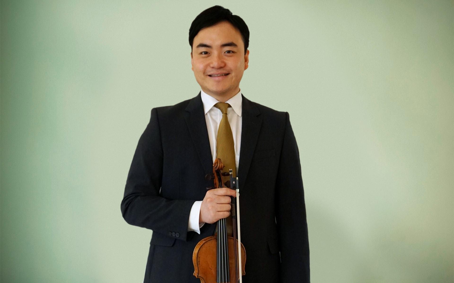 Mitglied der Staatsbad Philharmonie Kissingen, Daniel Kim