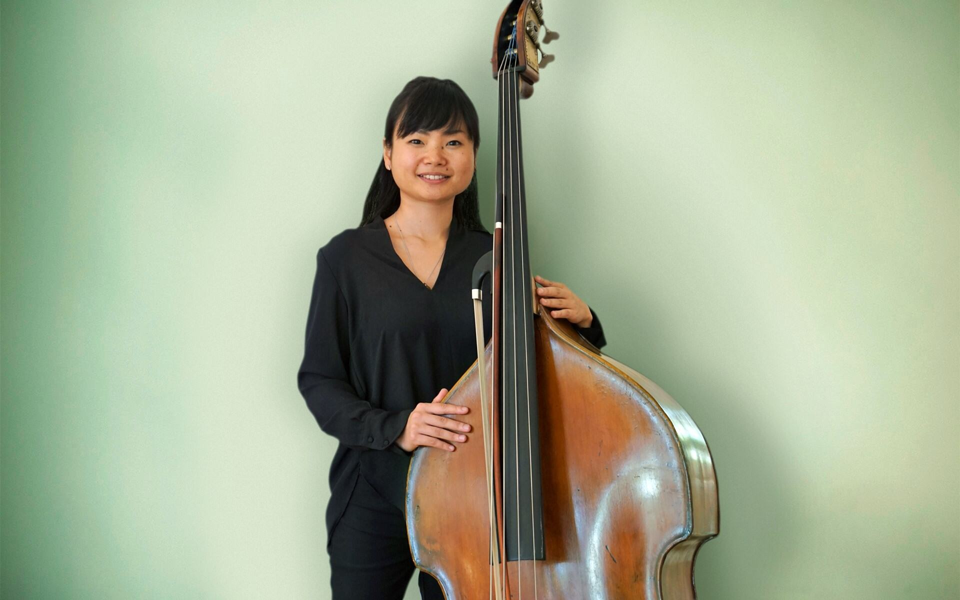 Shoko Tanaka, Mitglied der Staatsbad Philharmonie Kissingen