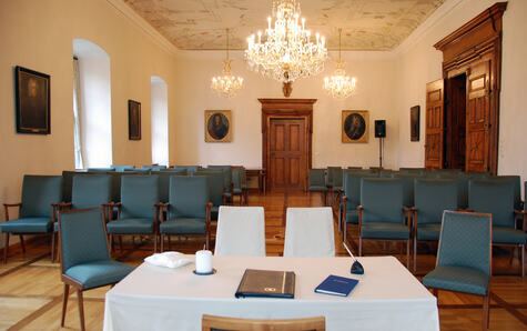 Sitzungssaal_Rathaus(c) Stadt Bad Kissingen Foto Friederike Grell
