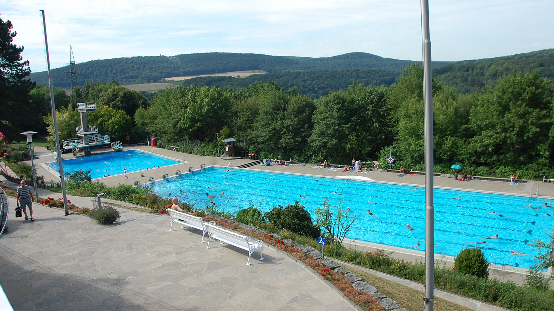 Terrassenschwimmbad, Bad Kissingen