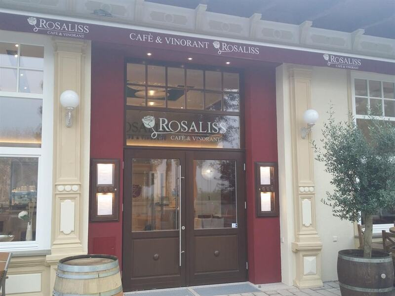 Eingang Restaurant Rosaliss