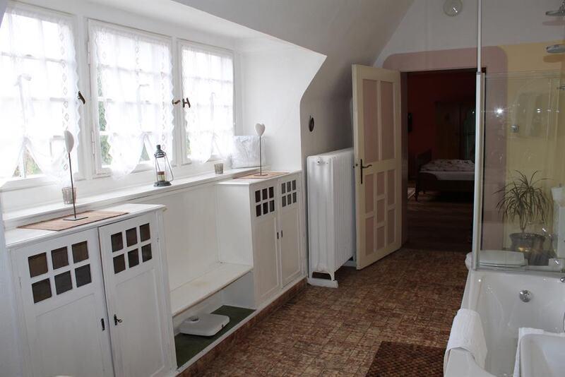 Badezimmer in der Suite