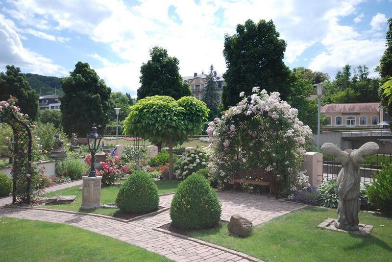 Gartenanlage Ausblick