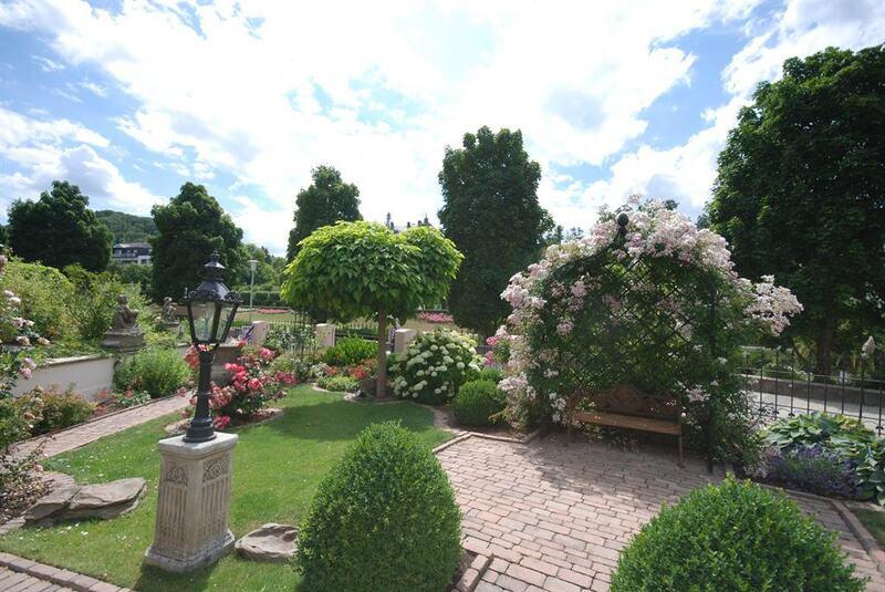 Garten Ausblick