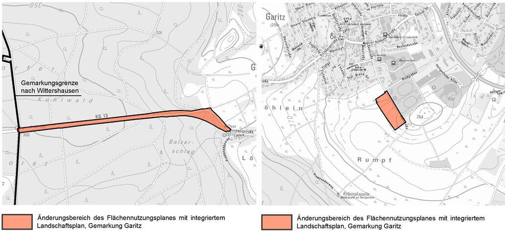21. Änderung Flächennutzungsplan mit integriertem Landschaftsplan